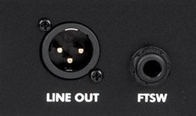 XLR Line Output