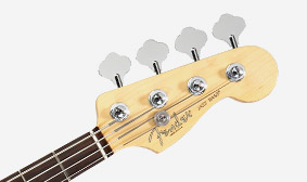 """Fender """"F"""" Vintage-Style Tuners with """"Paddle"""" Keys and Tapered Posts"""