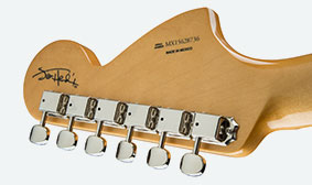 HEADSTOCK SIGNATURE