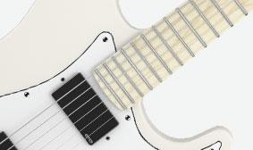 Compound-Radius Fingerboard