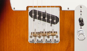 Three-Saddle American Vintage Telecaster Bridge