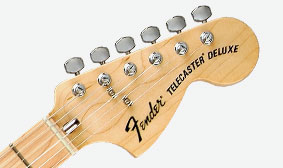 Large Stratocaster Headstock with Bullet Truss Rod Adjustment