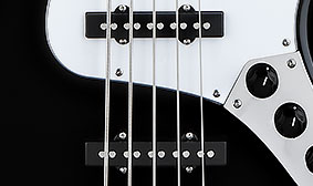 SINGLE-COIL JAZZ BASS V PICKUPS