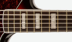 BOUND ROSEWOOD FINGERBOARD
