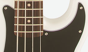 THREE-PLY BLACK/WHITE/BLACK PICKGUARD