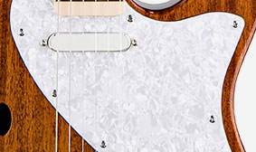 WHITE PEARLOID PICKGUARD