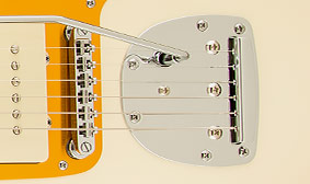 ADJUSTO-MATIC™ BRIDGE WITH FLOATING TREMOLO TAILPIECE