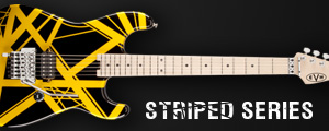 Striped Series Guitars