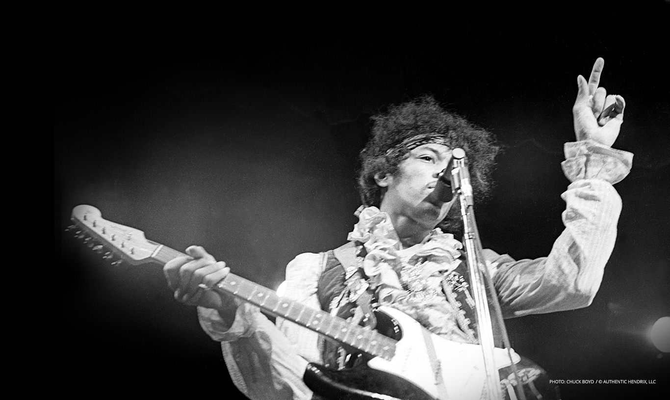 jimi hendrix the legacy lives on