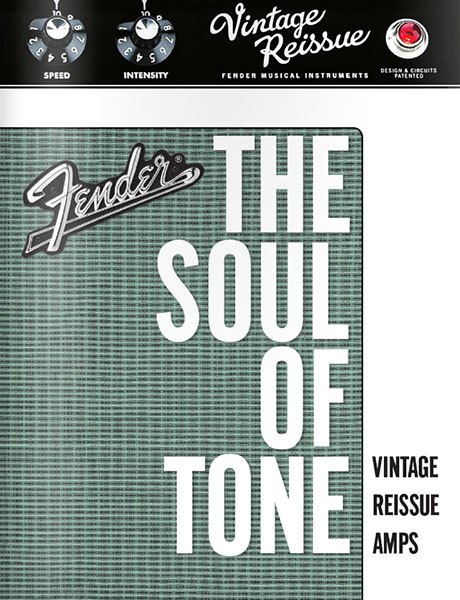 2009 Fender The Soul of Tone Vintage Reissue Amps Brochure