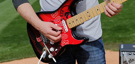 MLB Team Design Strat Guitars