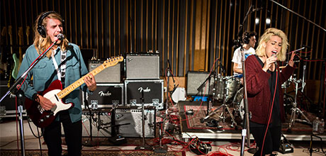Grouplove Recorded at Capitol Studios in Los Angeles