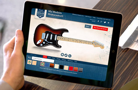 Design Your Own Guitar or Bass