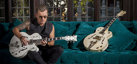 Billy Duffy Signature White Falcon