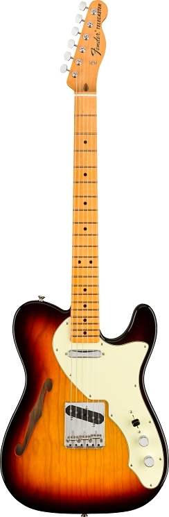 American Original 60s Telecaster® Thinline - 3-Color Sunburst