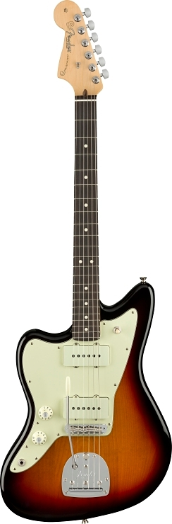American Professional Jazzmaster® Left-Handed - 3-Color Sunburst