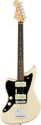 American Professional Jazzmaster® Left-Handed - Olympic White