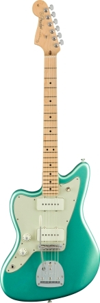 American Professional Jazzmaster® Left-Handed - Mystic Seafoam