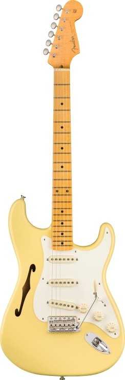 Eric Johnson Signature Stratocaster® Thinline - Vintage White