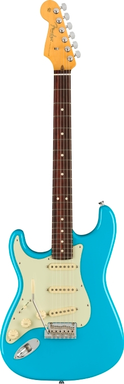 American Professional II Stratocaster® Left-Hand - Miami Blue