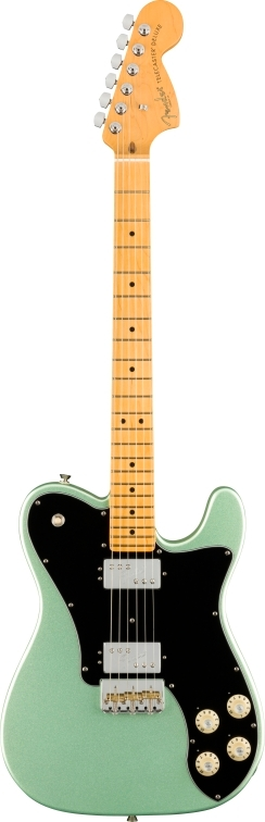 American Professional II Telecaster® Deluxe - Mystic Surf Green