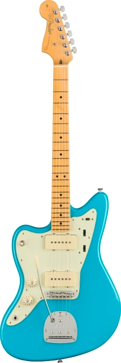 American Professional II Jazzmaster® Left-Hand - Miami Blue