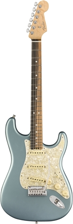 American Elite Stratocaster® - Satin Ice Blue Metallic