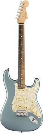 American Elite Stratocaster® - Satin Ice Blue Metallic