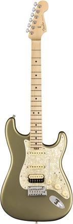 American Elite Stratocaster® HSS Shawbucker - Satin Jade Pearl Metallic