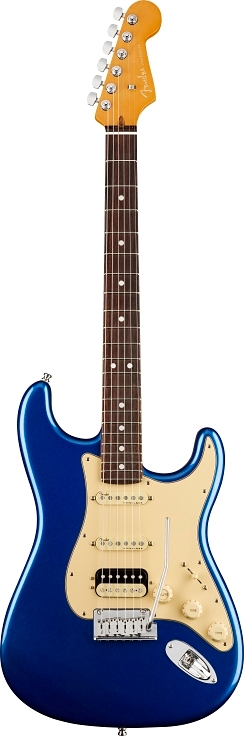 American Ultra Stratocaster® HSS - Cobra Blue