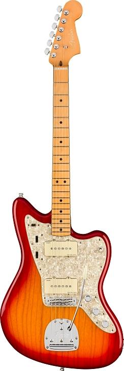 American Ultra Jazzmaster® - Plasma Red Burst