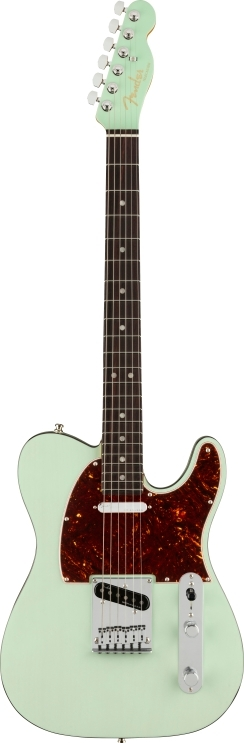 American Ultra Luxe Telecaster® - Transparent Surf Green