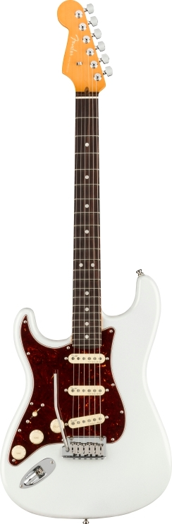 American Ultra Stratocaster® Left-Hand - Arctic Pearl