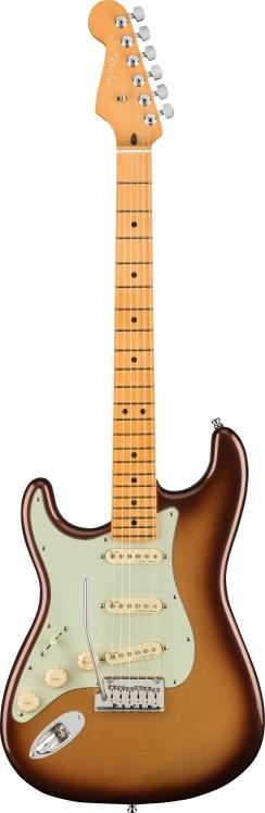 American Ultra Stratocaster® Left-Hand - Mocha Burst