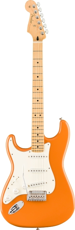 Player Stratocaster® LH für Linkshänder - Capri Orange