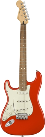 Player Stratocaster® zurdos - Sonic Red