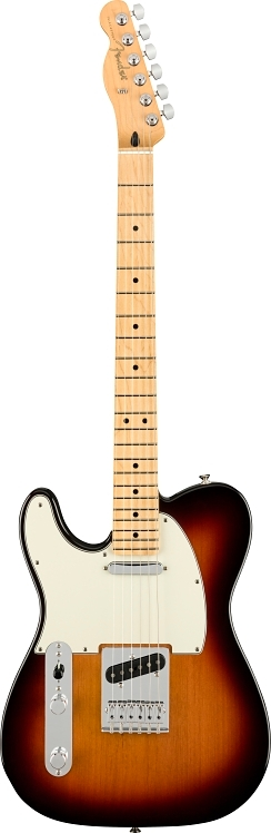 Player Telecaster® mancina - 3-Color Sunburst