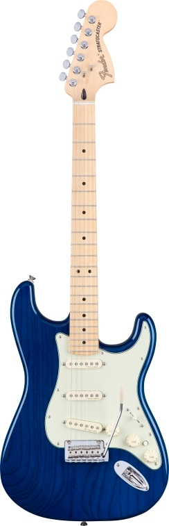 Deluxe Strat® - Sapphire Blue Transparent