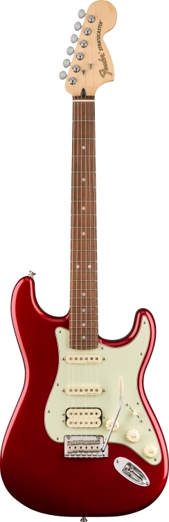 Deluxe Strat® HSS - Candy Apple Red