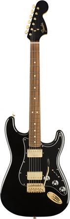 Limited Edition Mahogany Blacktop Stratocaster® - Black