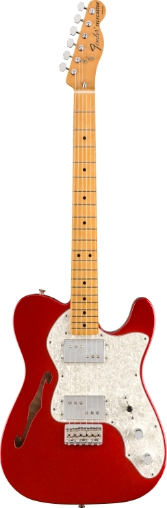 Vintera® '70s Telecaster® Thinline - Candy Apple Red