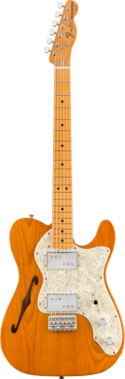 Vintera® '70s Telecaster® Thinline - Aged Natural