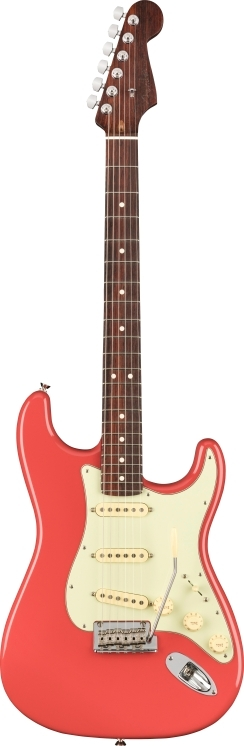 2020 Limited Edition American Professional Stratocaster®, Solid Rosewood Neck - Fiesta Red