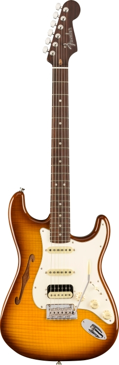 Rarities Flame Maple Top Stratocaster® HSS Thinline -