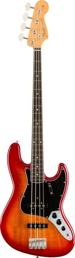 Rarities Flame Ash Top Jazz Bass® -