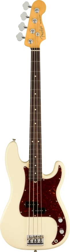 American Professional II Precision Bass® - Olympic White