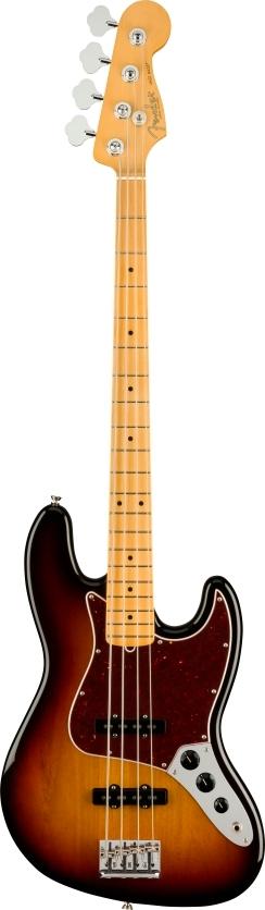 American Professional II Jazz Bass® - 3-Color Sunburst