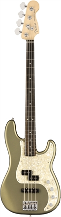 American Elite Precision Bass® - Satin Jade Pearl Metallic
