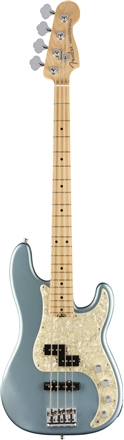 American Elite Precision Bass® - Satin Ice Blue Metallic