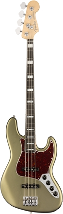 American Elite Jazz Bass® - Satin Jade Pearl Metallic